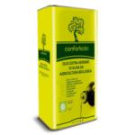 Olio extravergine d'oliva in latta conforti