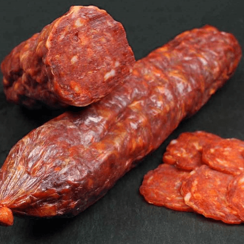 Salamino rosso dolce calabrese